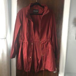 Forever 21 plus utility jacket